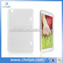 Anti-slide soft gel tpu skin cover case for lg g pad 8.3 v500