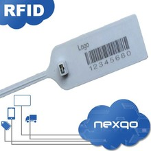Hot sale !Waterproof ABS/ Nylon RFID Cable Tie Tag with custom logo printing