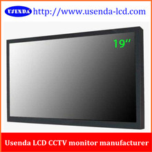 small size lcd monitor with HDMI port, DVI, VGA input 19""