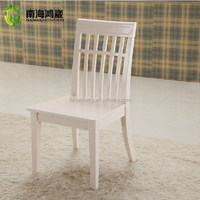 Foshan Modern Contemporary Lily White Pinkish Country and French Style Wooden Ladder Dining Chair