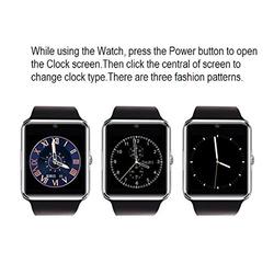 New product smart watch 2015,bluetooth nfc smart watch,smart watch GT08 with sim card