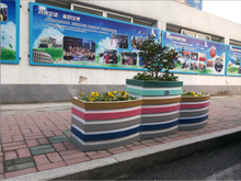 2+1 Planter Box , modular box planter, flower pots