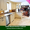 2015 Hot Sell ready made easy self assemble modular Solid wood Kitchen Cabinets (High End Quality in the Market)