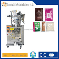 Sachet counting machine and packing for powder