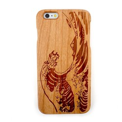 2015 Hot selling wood Phone Case for iphone 6 plus wooden case with luxury design on the back cover