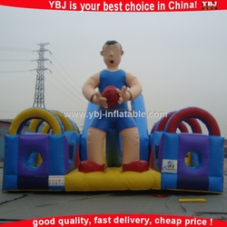 2015 ybj popular giant christmas inflatable/giant inflatable ball turkey