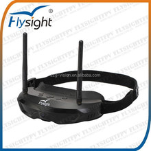 C399 All-in-one 854*480 (WVGA) Flysight Video Glasses SPX01 5.8GHz 32 Channel FPV Wireless Receiver for FPV Quadcopter