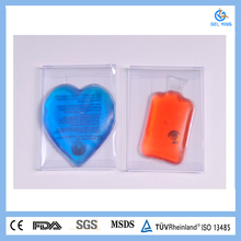 Rechargeable Instant plastic PVC microwave heating packs/soft material in multiply use