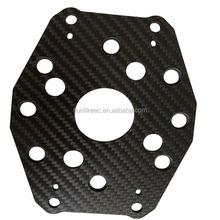 Custom precision machining real 3k carbon fiber parts High quality 3K plain/twill carbon weave