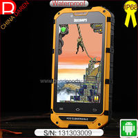 3G WCDMA+GSM waterproof dustproof shockproof IP68 rugged smart phone for Army Police Fisherman Special Force and The troops