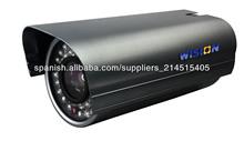 Cámara Bullet IR, cámara IP HD 720p, onvif2.0, NUUO, hito, HD cámara IP IR impermeable al aire libre