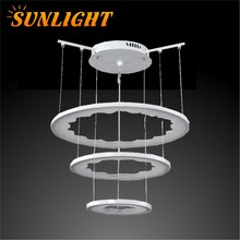 2015 High quality Hot sale unique dersign LED decoration ring light modern Pendant lamp for home or hotel