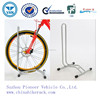 2015 High Quality OEM Portable Powder Coated Bike Stand for 1 Bike (ISO Approved)