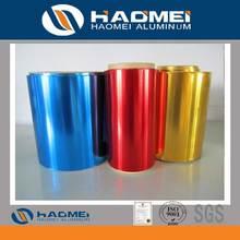 aluminum foils for colored aluminum foil