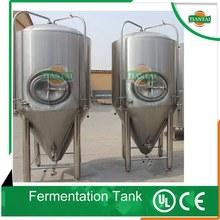 dimple jacket beer fermentation tank, beer fermenters for pub beer brewery system