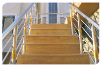 aluminium staircase railing for home decoration/ outdoor stair baluster/porch handrail