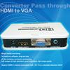 Full HD HDMI to VGA AV RCA DVI HDMI Audio Converter Adapter Switch 1080P sopprted
