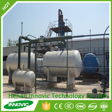 High Oil Yield Crude Petroleum Oil To Diesel Refinery Machine For Sale