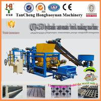 QTJ4-25D Small scale industries machines cement brick/concrete block making machine price in india