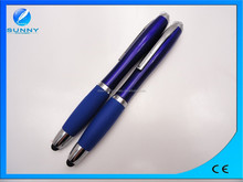 20153 in 1 popular touch ball pen with led light