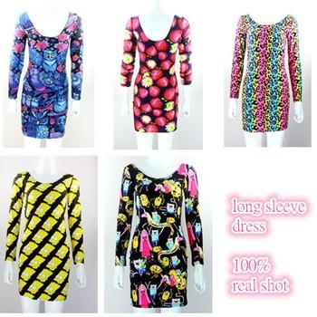 Восток, вязание sw-039 новых женщин водолазку пуловеры harajuku животных печати леопарда крест одежда женщин