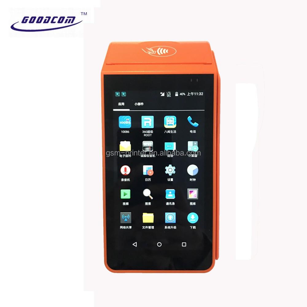 Hotsell 5 inch thanh toán Hóa Đơn Xổ Số <span class=keywords><strong>in</strong></span> ấn Vé Android POS nhiệt thiết bị đầu cuối cho Nhà Hàng