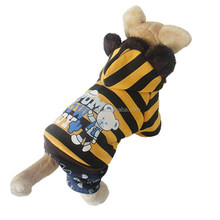 Wholesale Fashional Printed Bear Pattern Dog Clothes