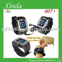 """007+ watch mobile phone with Pinhole camera Voice dialing 1.5"""" touch screen"""