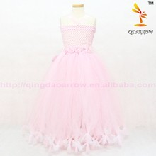 Girl Party Wear Western Children Girl Birthday Dress For Baby