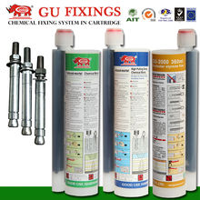 Chemical sealant injection mortar adhesive for snap fastener