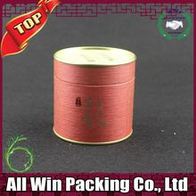entire pet window paper round box for package food