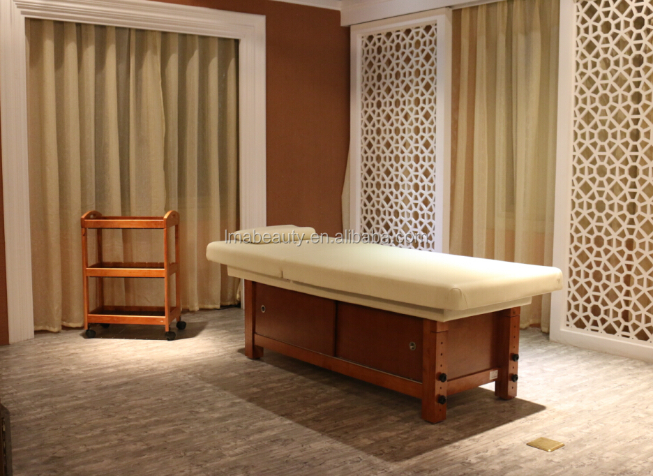 Spa Bed With No Hole And Storage