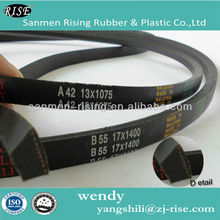 V BELT V-BELT RUBBER BELT TRANSMISSION BELT AUTO BELT WRAPPED V BELT FAN BELT COGGED V BELT NARROW V BETL A B C D E