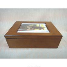 Forever memory photo frame wooden urn