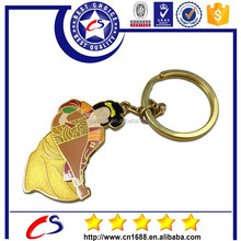 New arrivals custom made 3d pvc keychains for sale
