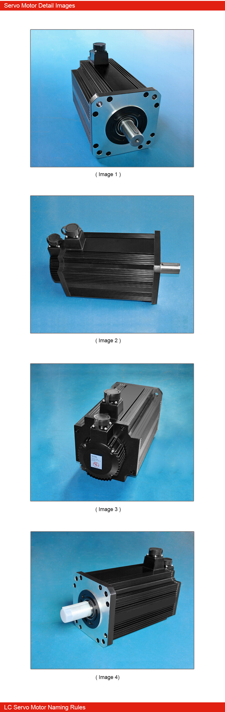 5.5KW Servo Motor Sets 3 phase 180 Flange Large Power 35NM 1500rolls for Earth-moving Machinery