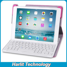 OEM ODM Folio Leather Keyboard For iPad 234 , Customize Keyboard Case For iPad 234