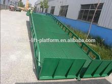 Rampa de carga de contenedores de 6-30toneladas / rampa hidráulica para camión