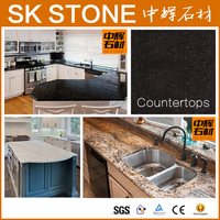 best-selling pure white crystal glass countertop kitchen kitchen worktop