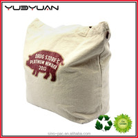 2015 eco-friendly polyester shopping bag cotton canvas cloth cheap packaging bag