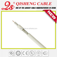 75 ohm 50 ohm RG6 coaxial cable Low db Loss andrew feeder cable for CATV satellite system CE UL RoHs approved