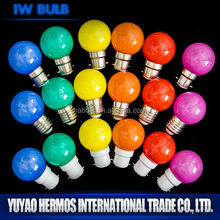 1w hot new products for 2015 Candle Bulb led Lamp
