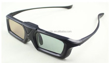 3d DLP Link glasses/3D Active Shutter Glasses rechargeable, 3d glasses with reasonable price and good service