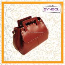 Modern exported pu women shoulder bag