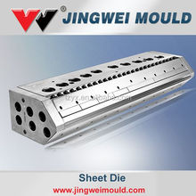 pastic pvc extrusion mould for pvc /wpc foam sheet mould extrusion die head