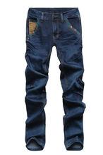 para hombre pantalones vaqueros de diseño al por mayor