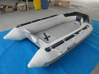 PVC Inflatable sea sport boat 3.6m ce certified raft fishing boat
