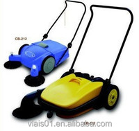 tow road sweeper cleaning machine for supermarket /floor