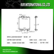 auto cooling radiator for DAIHATSU MIRA L200/500/300/EF 16400-87259/87289