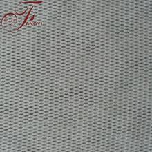 Good Quality Heavy White Diamond Nylon Cotton Bonded Lace Blended Cotton Lace Fabric